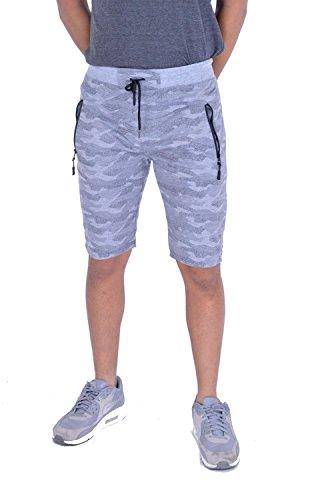 MyMixTrendz Men Boys Unisex Athletic Side Zip Lightweight Running Shorts -