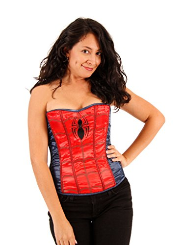 s Sequin Corset (Womens M/L) (Spider-woman Outfit)