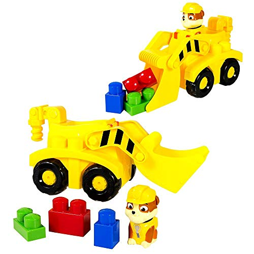 Spin Master Selection Junior vehicles | Ionix Preschool Construction Kit |  Paw Patrol, Figure:Rubble