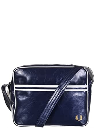 Besace Fred Perry reference FPL1180 couleur 608 - Navy