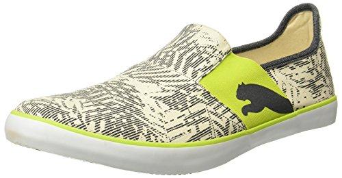 Puma Unisex Lazy Graphic Dp Black Leather Running Shoes - 6 UK/India (39 EU)
