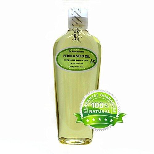 Perilla Seed Oil Oil Pure Cold Pressed Organic 8 Oz