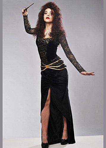 Erwachsene Potter Harry Kostüm (Bellatrix LeStrange Style Kostüm für Erwachsene L (UK 12-14))