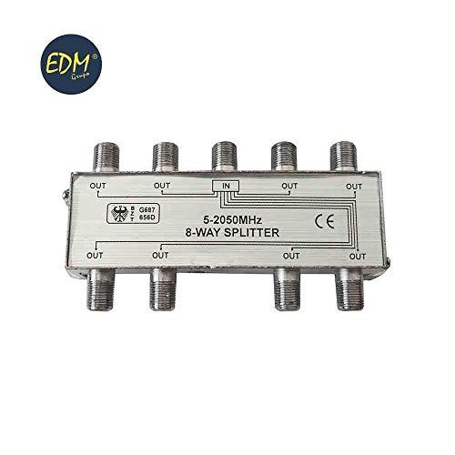 Splitter 1Eingang 8Ausgänge 5-2050MHz 2050 Mhz-tv