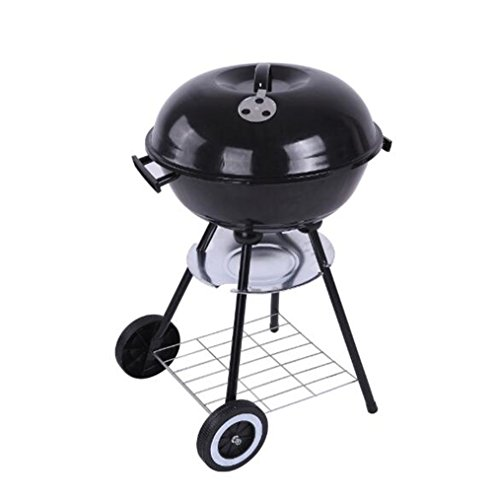 ZERO FAN Grill E Grill Griglia Elettrica Griglia A Carbone- Barbeque Rotondo Portatile Da Campeggio All'aperto Senza Fumo