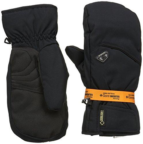 huhe Gonzen GTX R Gore Warm Mitten Gloves Ski Alpine, Black, 10.5, 801008 (Fausthandschuhe Handschuhe)