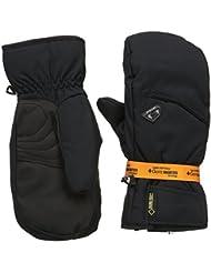 Ziener Guantes gonzen GTX R Gore cálido Mitten Guantes de esquí Alpine, hombre, color Negro - negro, tamaño 11