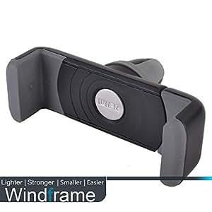 grille ventilation mount support t l phone voiture main libre pour iphone 5 5c 5s samsung galaxy. Black Bedroom Furniture Sets. Home Design Ideas