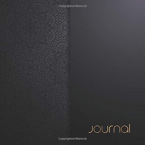 JOURNAL: 150 Page Blank Lined Journal Classy Luxury Executive Black & Gold (Kostüm Black Spy)