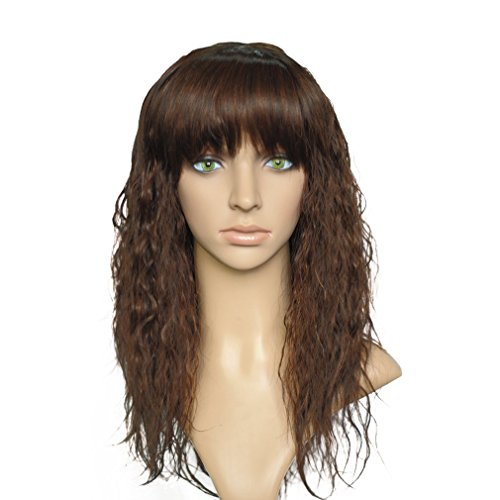 namecute-ombre-brown-medium-curly-wigs-party-cosplay-heat-resistant-kanekalon-wig-for-women-with-ban