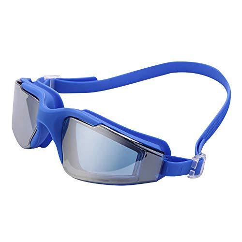 TAOtTAO Erwachsene professionelle wasserdichte schützen Schwimmen Brille Schwimmbrille Wassersportbrille Anti-Fog- und Anti-UV-Schwimmgalvanik (B)