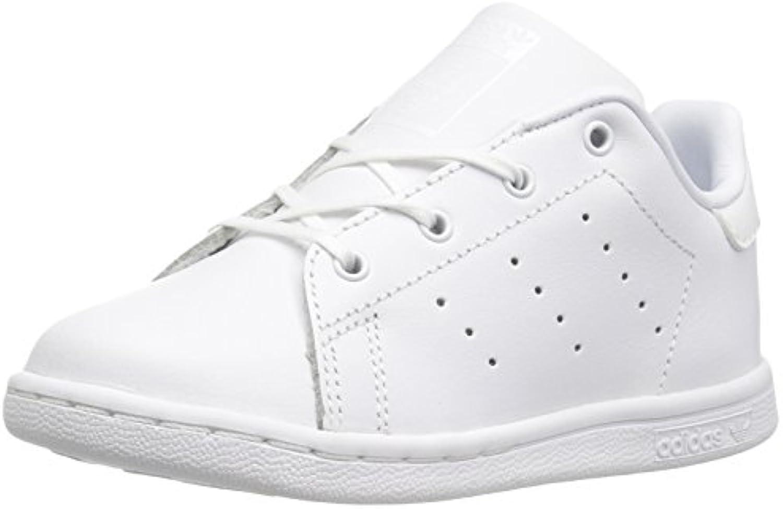 adidas originaux bébé stan smith je basket, blanc / Blanc nous  / Blanc , nous Blanc bambin 7 moyenne 41ac9a