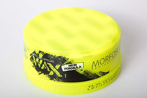 Morfose New Generation Matte Wax Styling 150ml Nr.1 Extra Strong Hold Matt Haar Wax Haarwachs Mat Hair Styling Wax Messed Up Look