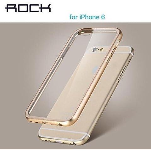 Funda de teléfono multifunción / cuero / soft shell/ iPhone 6 compatible Color sólido/superficie de cristal/Diseño especial/Tapa transparente/parachoques de bastidor/carcasa impermeable , Gris