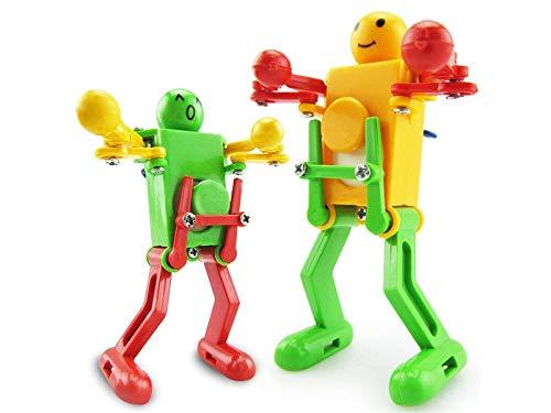 GHJFGJNF Wind Up Toys, Clockwork Dancing Robot Toy giocattolo educativo per bambini 1 Pz
