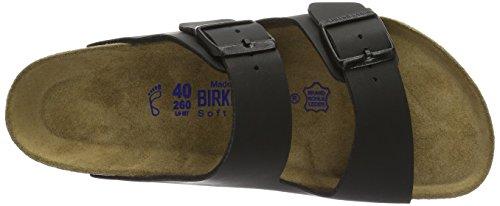 Birkenstock Arizona 551251, Mules Homme Noir