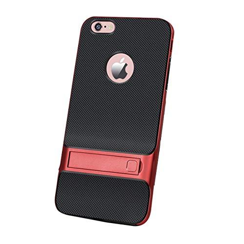 """Zater iPhone 6 Plus Hülle, iPhone 6 Ultra Slim Case Dünn PC Hardcase HandyHülle mit Kratzfest Hart Plastik Schutz Leicht Schale Telefon Tasche für Apple iPhone 6S (Rot, iPhone 6 /6S 4.7"""") Telefon Iphone"""