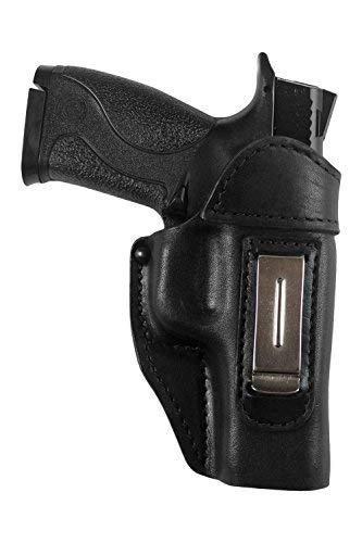 VlaMiTex IWB 4 Leder Smith & Wesson M&P 9 40 45 M&P 9c compact (P M Smith Wesson)