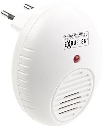 Exbuster Spinnenschreck: Ultraschall-Schädlingsvertreiber für die Steckdose, wirksam auf 47 m² (Ultraschall Schädlingsbekämpfer)