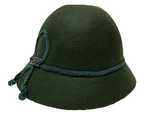 Kinder Trachten Hut grün Gr. 53