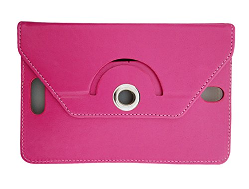 Fastway Rotating Flip Cover For Samsung Galaxy Tab 4 T231 Tablet( 8 GB, Wi-Fi+3G)-Pink  available at amazon for Rs.249