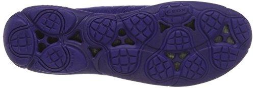 Geox D Nebula G, Scarpe da Ginnastica Basse Donna Blu (DK VIOLETC8019)
