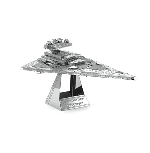 Metal Earth Fascinations Star Wars Imperial Star Destroyer 3D Metall Puzzle, Konstruktionsspielzeug, Lasergeschnittenes Modell