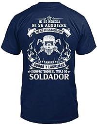 TEEZILY Soldador Edición Limitada Camiseta Hombre