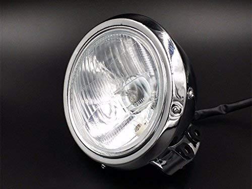 Romsion Mirrors /& Accessories R/étroviseurs lat/éraux pour Moto Cruiser Touring Harley Davidson XL 883 1200 Noir Mat