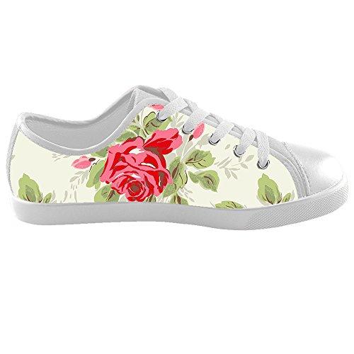 Dalliy Floral Flower Kids Canvas shoes Schuhe Footwear Sneakers shoes Schuhe E