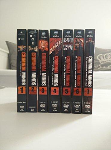 Criminal Minds - Die komplette 1. + 2. + 3. + 4. + 5. + 6. + 7. Staffel (41-Disc / 7-Boxen)