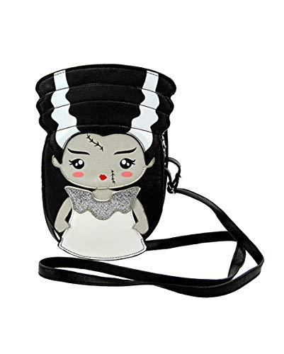 Horror-Shop Frankensteins Braut Damen Handtasche für Halloween