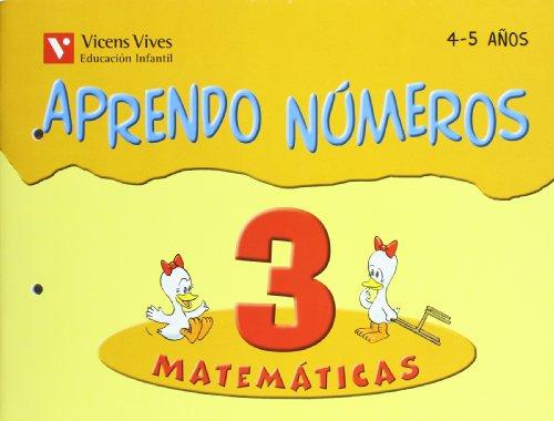 Aprendo Números. Cuaderno 3 - 9788431636760