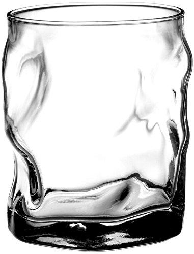 Bormioli Rocco Sorgente Double Old Fashioned Glasses, Set of 4 by Bormioli Rocco Double Old Fashioned