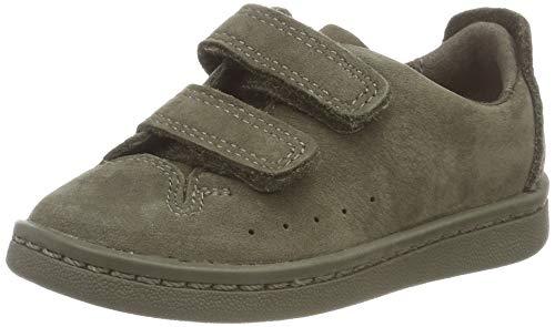 Clarks Unisex-Kinder Nate Maze Sneaker, Grün (Olive Nubuck), 26 EU -