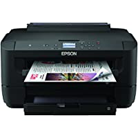 Epson Workforce WF-7210DTW - Impresora, Color Negro