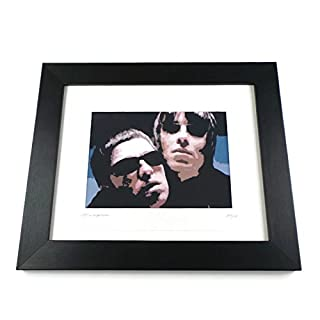 Oasis Liam & Noel Limited Edition Signed Art Print