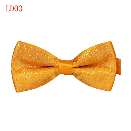 Meijunter Mode Classique Mens Tuxedo Polyester réglable Bowtie de soirée de mariage cravate LD03