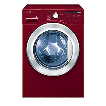 Daewoo DWD-FB544DCE Autonome Charge avant 8kg 1400tr/min A++ Rouge machine à laver - machines à laver (Autonome, Charge avant, Rouge, 8 kg, 1400 tr/min, 79 dB)