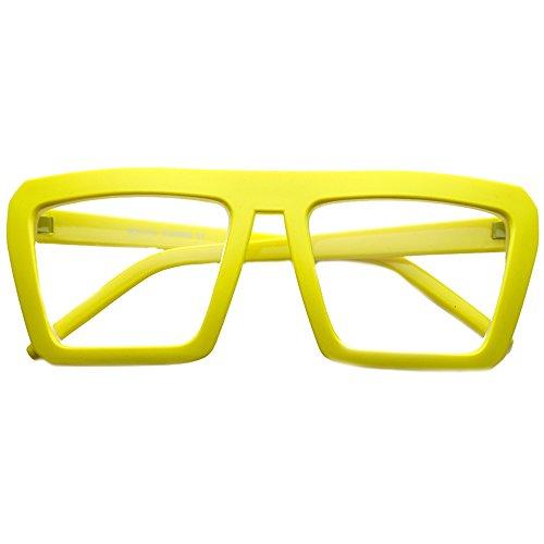 Kiss Brillen in neutralen OLD SCHOOL mod. SMOOTH - optischen rahmen VINTAGE mann frau HIP-HOP - GELB