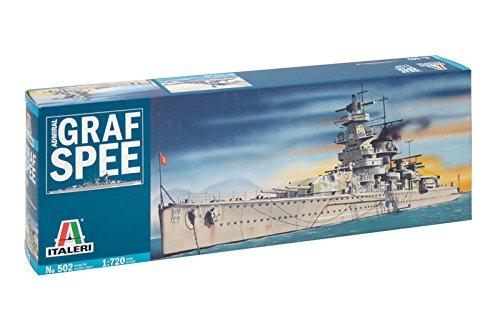 Italeri 0502 - admiral graf spee model kit  scala 1:720
