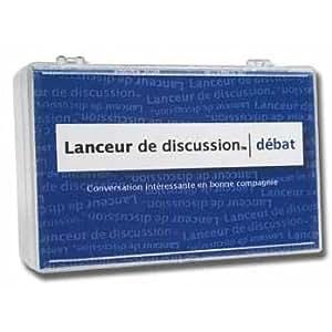 Frigopoesie - FP710076 - Lanceur de discussion Débat - Bleu