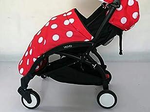 Langer Fußsack für Baby und Kleinkind/Wind-und Regenschutz - passend für Kinderwagen Yoyo bzw.Baby Yoya