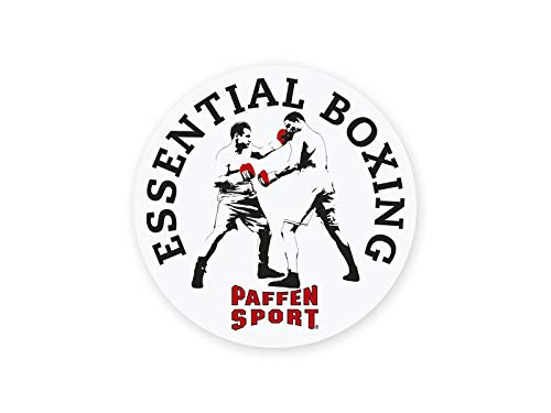 Paffen Sport Aufkleber Essential, weiß, rund 95 mm Durchmesser