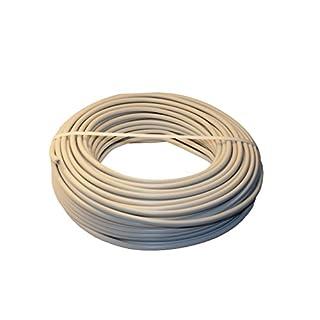 Mantelleitung Installationsleitung NYM-J 3x1,5² PVC grau 5-50m (50m)