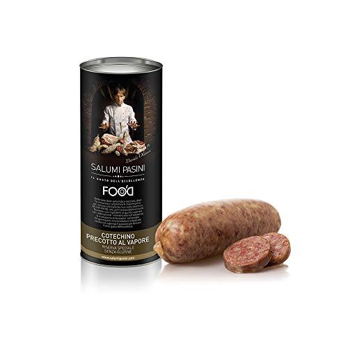 Precooked Cotechino, exclusive recipe by Michelin Star chef Davide Oldani, italian food by Salumi Pasini, 500 gr