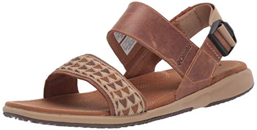 Columbia Damensandalen, Solana, Größe 43, braun (Elk, Beach) Elk Schuhe