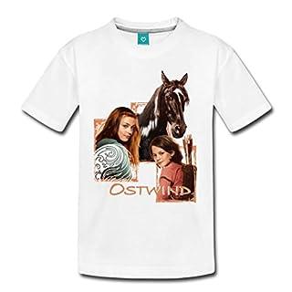 Spreadshirt Ostwind Aris Ankunft Porträt Teenager Premium T-Shirt, 146/152 (10 Jahre), Weiß