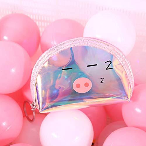 TianranRT❄ Damen Geldbörsen,Datenkabel Aufbewahrungstasche Multi-Style Ins Tasche Geldbörse Damen Kosmetiktasche Kreativ Und Süß,A - Laser-griff Taschenlampe