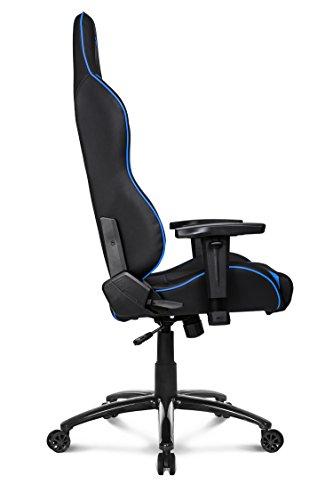 41hfdGqq%2BuL - AKRACING silla mesa para Gaming Faux Piel Blanco